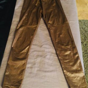 Pants - Gold skimmer stretch pant